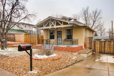 Denver Single Family Home Active: 5255 Lowell Boulevard