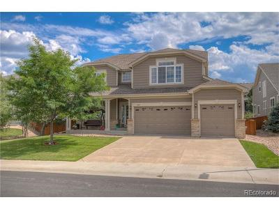 Castle Rock Single Family Home Active: 1668 Peridot Court