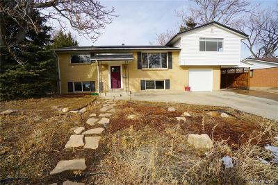 Denver Single Family Home Active: 3965 West Quinn Place