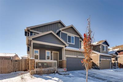 Commerce City Single Family Home Under Contract: 9762 Lima Circle