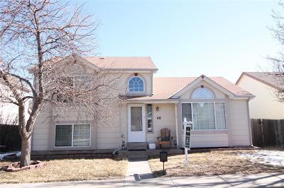 Castle Rock Single Family Home Active: 48 Quicksilver Avenue