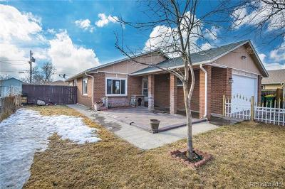 Commerce City Single Family Home Under Contract: 7181 Pontiac Street