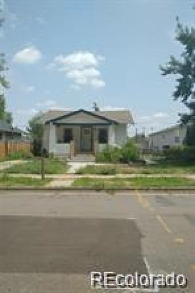 Englewood Single Family Home Active: 3934 South Acoma Street