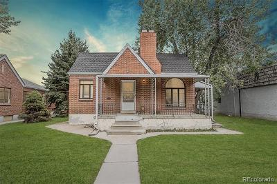Denver Single Family Home Active: 3434 West 29th Avenue