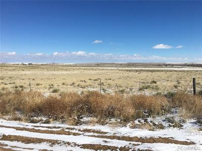 Arapahoe County Residential Lots & Land Active: 73660 East County Road 22