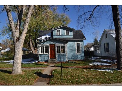 Longmont Single Family Home Under Contract: 1004 Bross Street