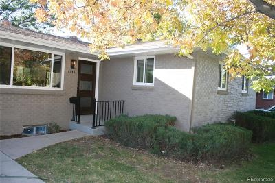 Denver Single Family Home Active: 2015 South Xavier Street