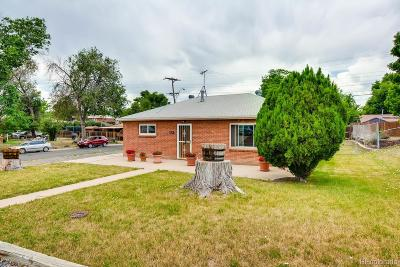 Thornton Single Family Home Under Contract: 9161 Emerson Street