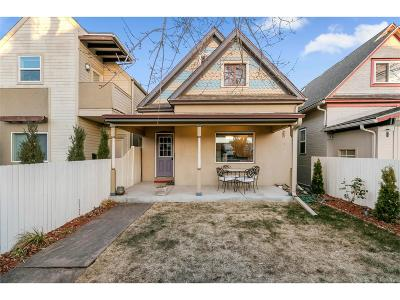 Denver Single Family Home Active: 814 Fox Street