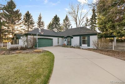 Centennial Single Family Home Active: 5909 South Gilpin Court