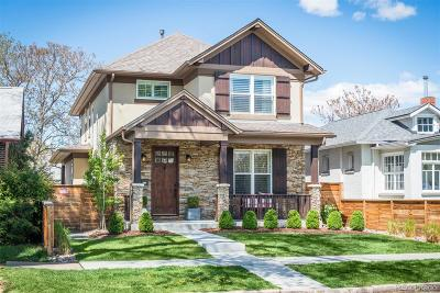 Denver Single Family Home Under Contract: 1329 South Sherman Street
