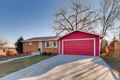 Aurora, Denver Single Family Home Under Contract: 8670 Hopkins Drive