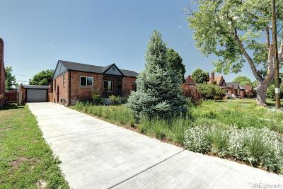 Denver Single Family Home Under Contract: 1355 Utica Street
