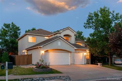 Littleton Single Family Home Active: 5554 West Ida Drive
