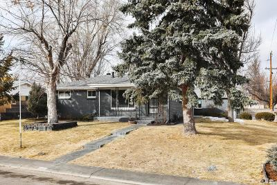 Aurora CO Single Family Home Under Contract: $315,000