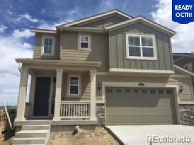 Castle Rock Single Family Home Under Contract: 3162 Jonquil Street