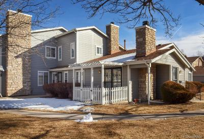 Arvada Condo/Townhouse Under Contract: 8421 Everett Way #D