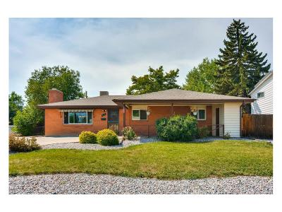 Broomfield Single Family Home Under Contract: 925 Laurel Street
