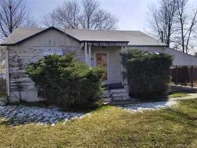 Lakewood Single Family Home Under Contract: 1320 Teller Street
