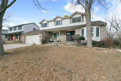 Arapahoe County Single Family Home Active: 14591 East Adriatic Place