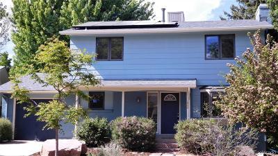 Boulder Single Family Home Active: 1590 Judson Drive