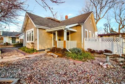 Denver Single Family Home Under Contract: 4868 Wyandot Street