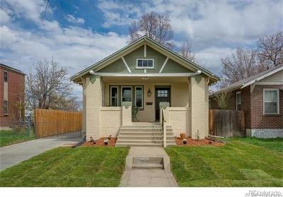 Denver Single Family Home Active: 1336 Stuart Street