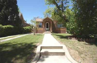 Denver CO Single Family Home Active: $560,000