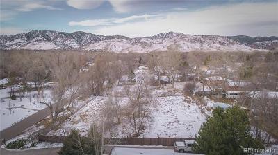 Boulder Residential Lots & Land Active: 2153 Tamarack Avenue