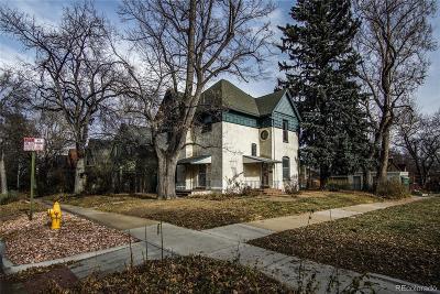 Denver Single Family Home Under Contract: 1002 Detroit Street