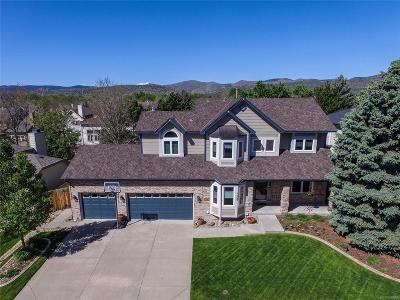 Littleton Single Family Home Active: 7063 South Owens Way