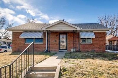 Denver Single Family Home Active: 4901 Meade Street