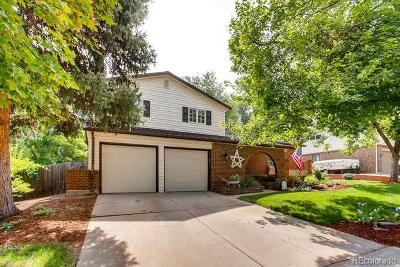 Aurora Single Family Home Active: 1748 South Nile Court