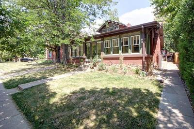 Boulder Condo/Townhouse Active: 1519 Pine Street #3