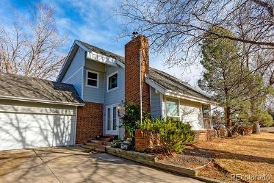 Centennial Single Family Home Active: 7560 South Jackson Street