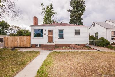 Englewood Single Family Home Under Contract: 3897 South Logan Street
