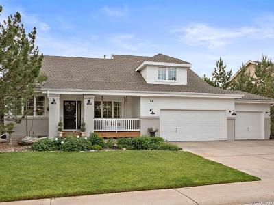 Castle Pines Single Family Home Under Contract: 7166 Turweston Lane