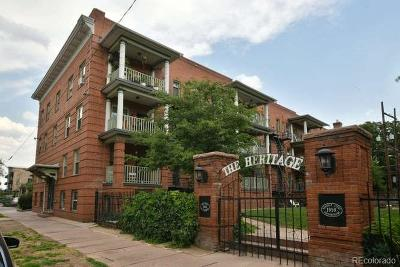 Alamo Placita, Capital Hill, Capitol Hill, Governor's Park, Governors Park Condo/Townhouse Active: 1376 Pearl Street #103
