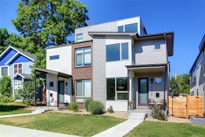 Denver Condo/Townhouse Active: 4147 North Vrain Street