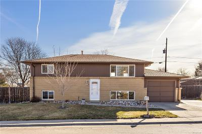 Arvada Single Family Home Active: 7644 Ingalls Street