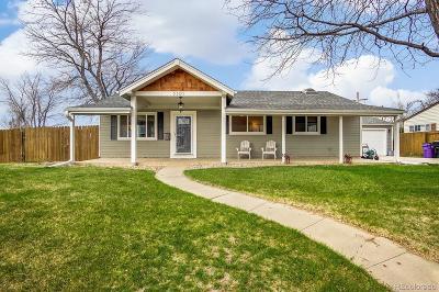 Denver Single Family Home Active: 5301 Highline Place