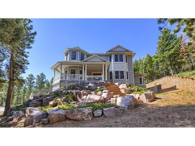 Woodland Park Single Family Home Active: 1635 Sand Road