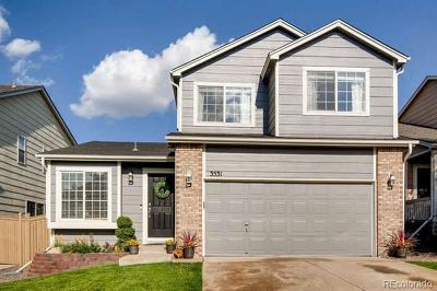 Castle Rock Single Family Home Active: 3531 Morning Glory Drive