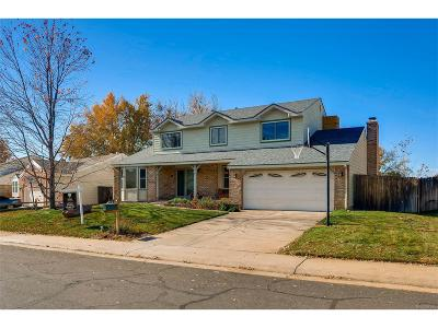 Centennial Single Family Home Under Contract: 5575 South Sedalia Street
