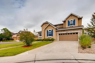 Highlands Ranch Single Family Home Under Contract: 10940 Shadecrest Point