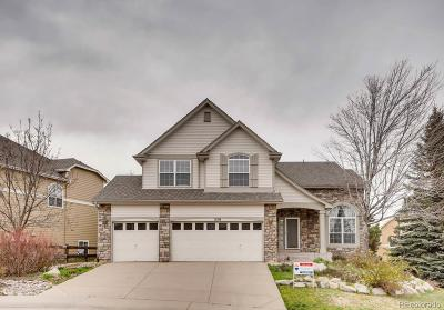Castle Pines North Single Family Home Under Contract: 359 Shoreham Circle