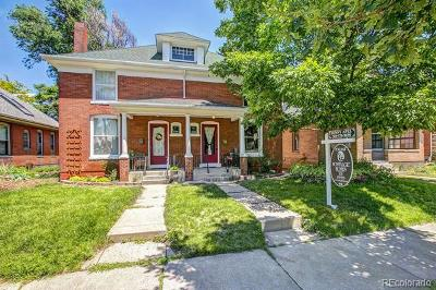 Denver Single Family Home Active: 2705 West 35th Avenue