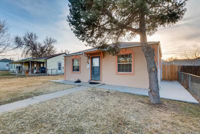 Denver Single Family Home Under Contract: 859 Hooker Street