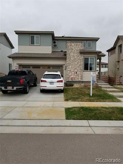 Commerce City Single Family Home Active: 17548 East 111th Place