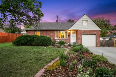 Wheat Ridge Single Family Home Under Contract: 3450 Upham Street